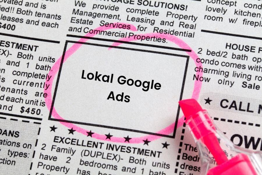 Lokal Google ads