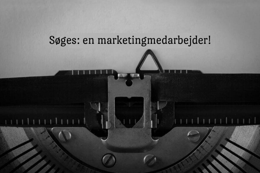 Marketingmedarbejder